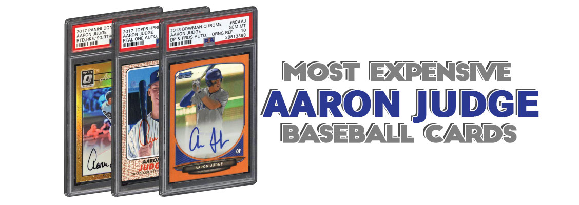 8f618b73a Aaron Judge rookie baseball card list best rookie refractor psa graded